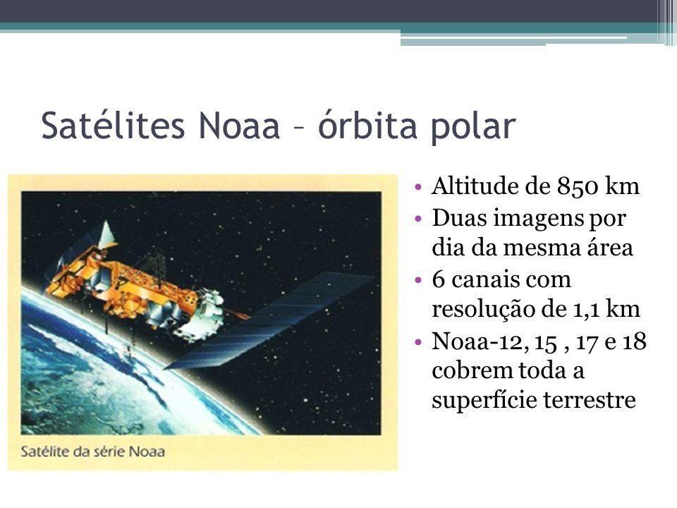 Satélites Noaa – órbita polar