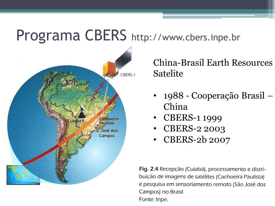 Programa CBERS http://www.cbers.inpe.br