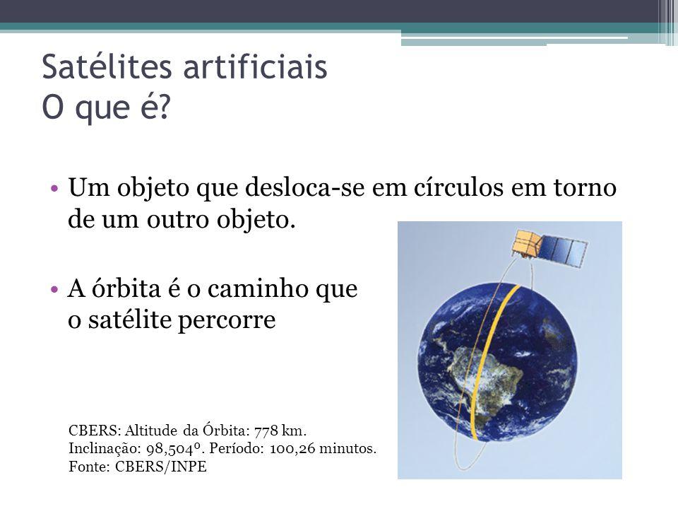 Satélites artificiais O que é
