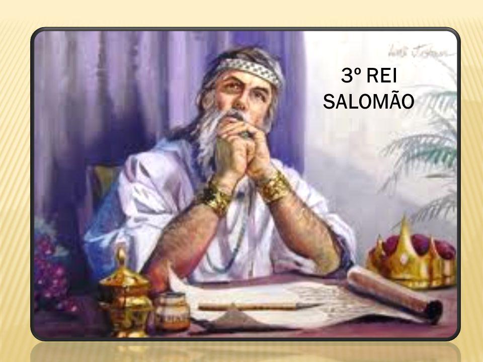 3º REI SALOMÃO