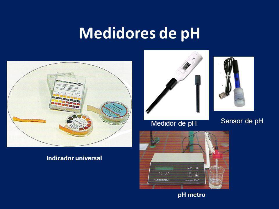 Medidores de pH Sensor de pH Medidor de pH Indicador universal