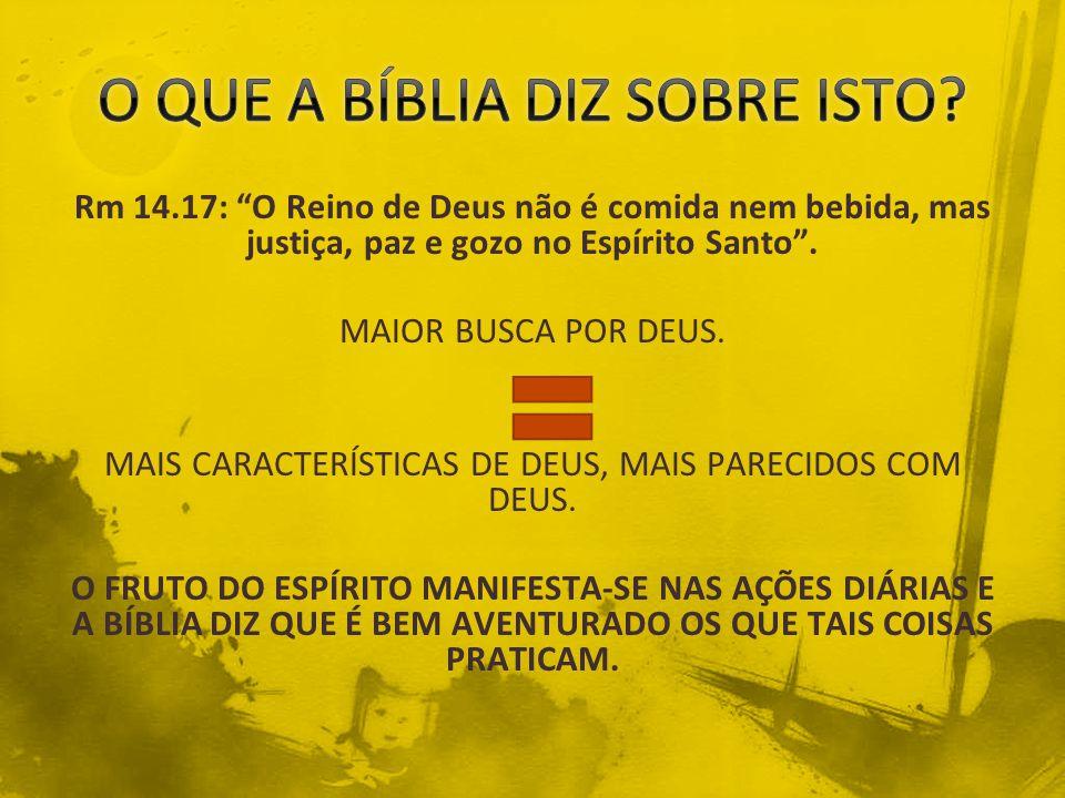 O QUE A BÍBLIA DIZ SOBRE ISTO