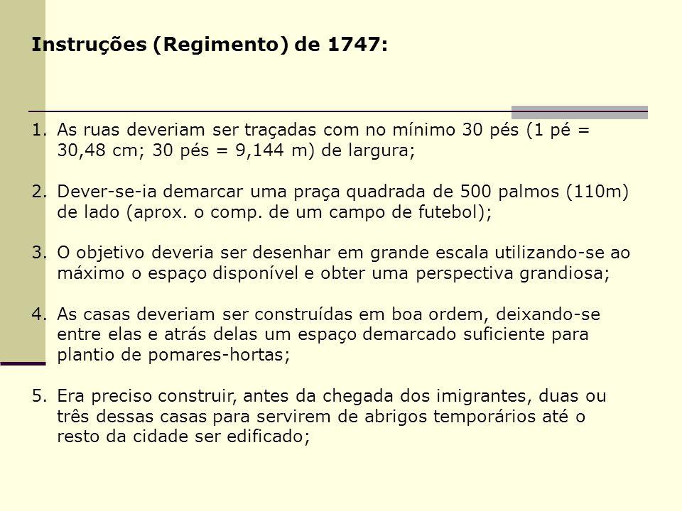 Instruções (Regimento) de 1747: