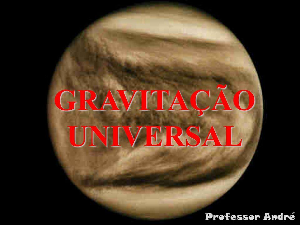 GRAVITAÇÃO UNIVERSAL Professor André