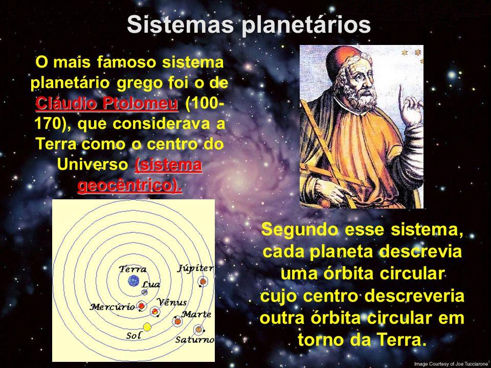 Sistemas planetários
