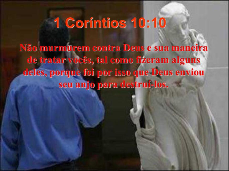 1 Coríntios 10:10