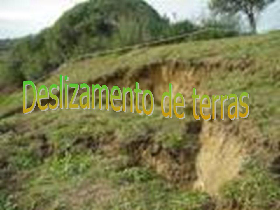 Deslizamento de terras