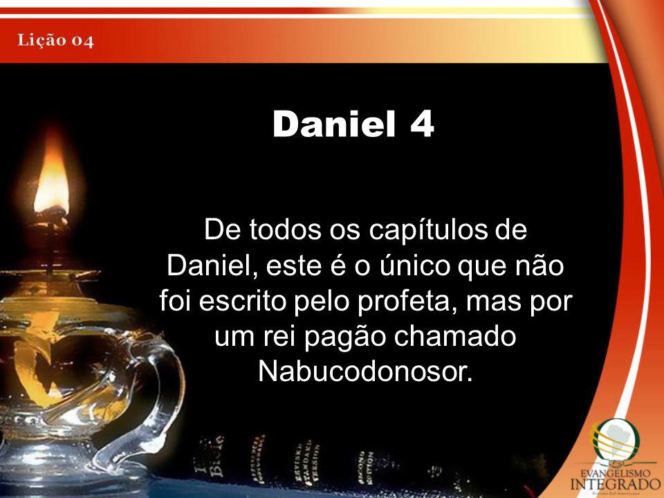 Lição 04 Daniel 4.