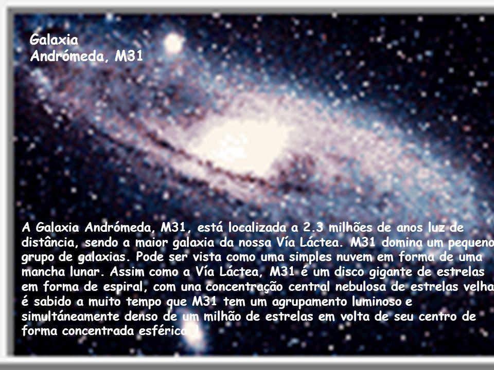 Galaxia Andrómeda, M31