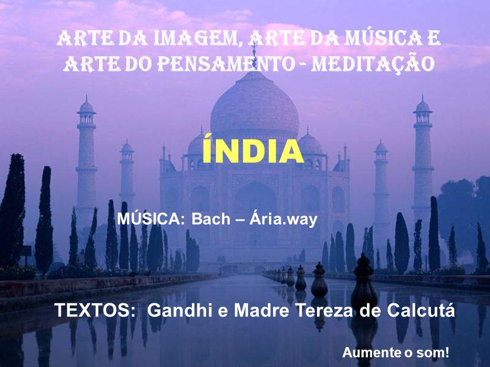 ARTE DA IMAGEM, ARTE Da música E ARTE DO PENSAMENTO - MEDITAÇÃO