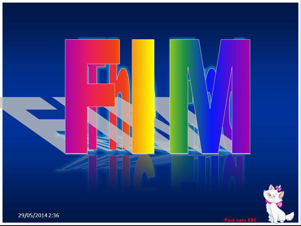 FIM 31/03/2017 12:52 Para sair: ESC