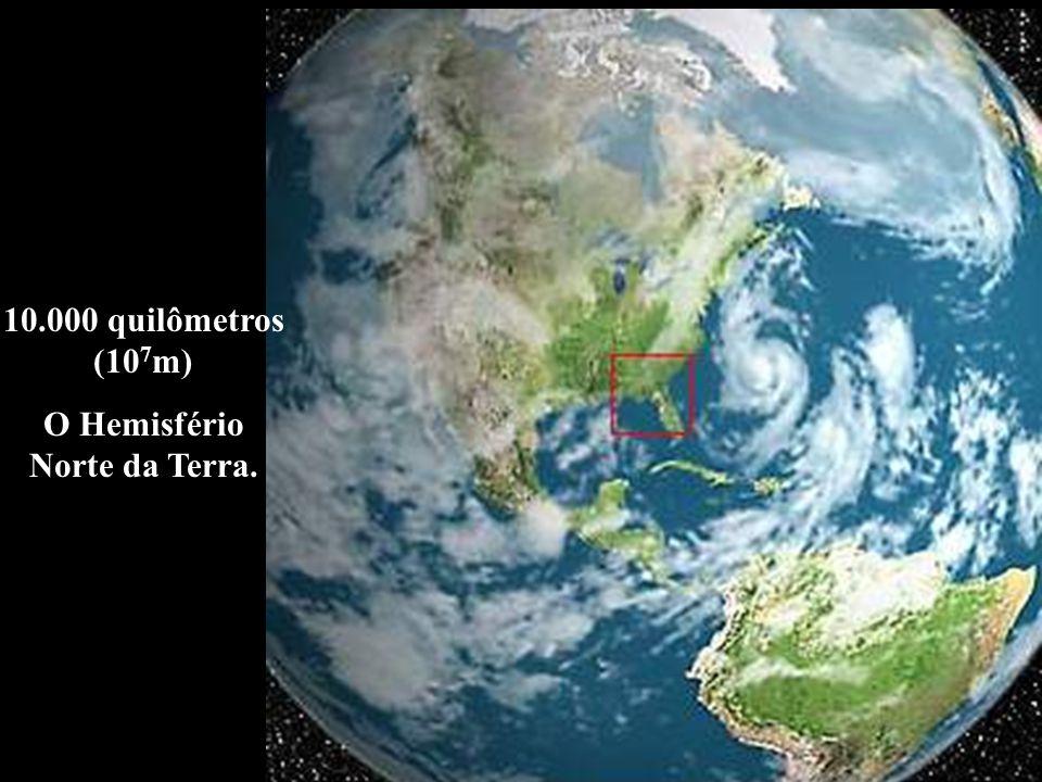 O Hemisfério Norte da Terra.