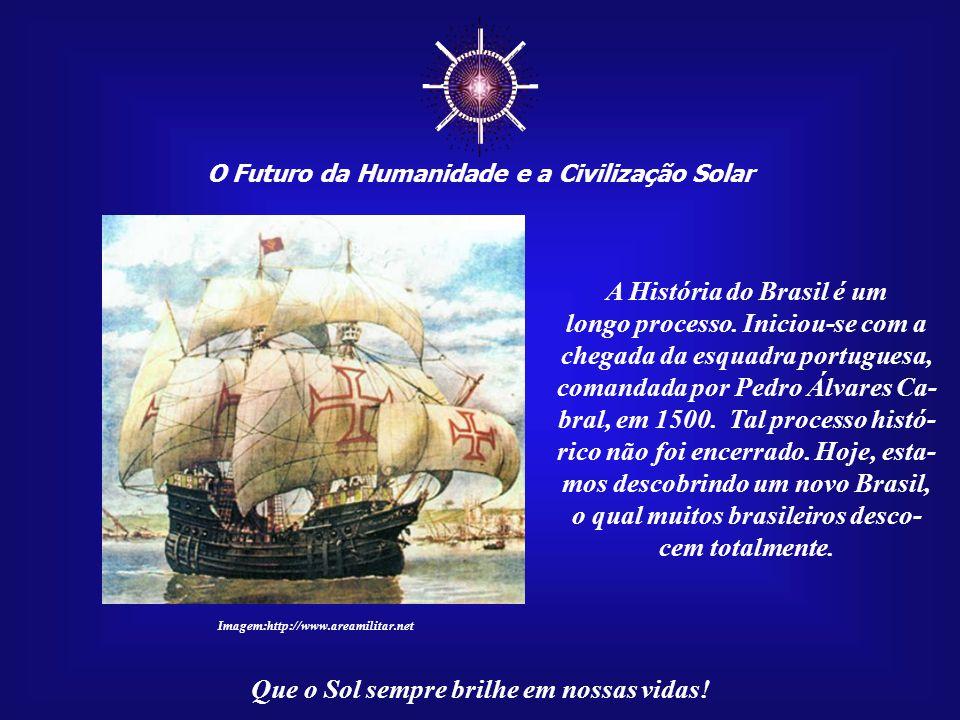 ☼ A História do Brasil é um