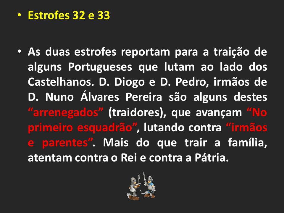 Estrofes 32 e 33