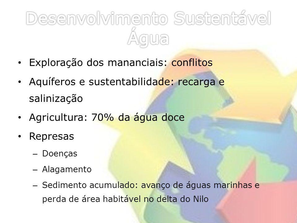 Desenvolvimento Sustentável Água