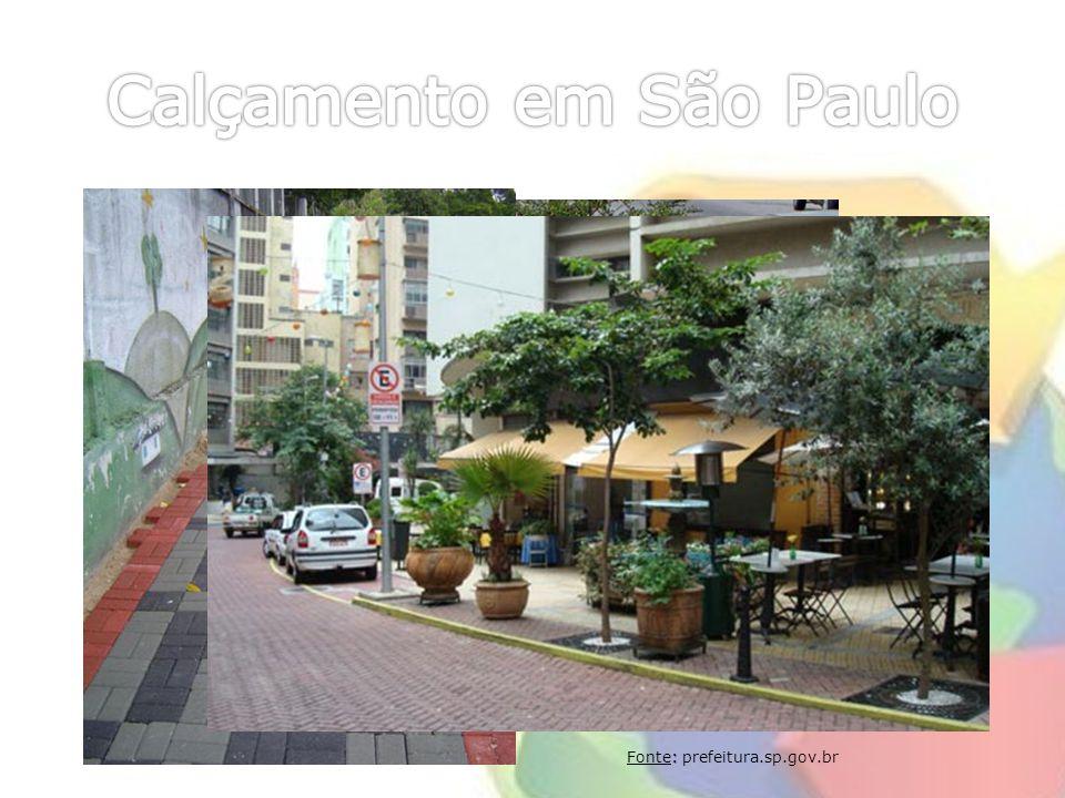 Calçamento em São Paulo