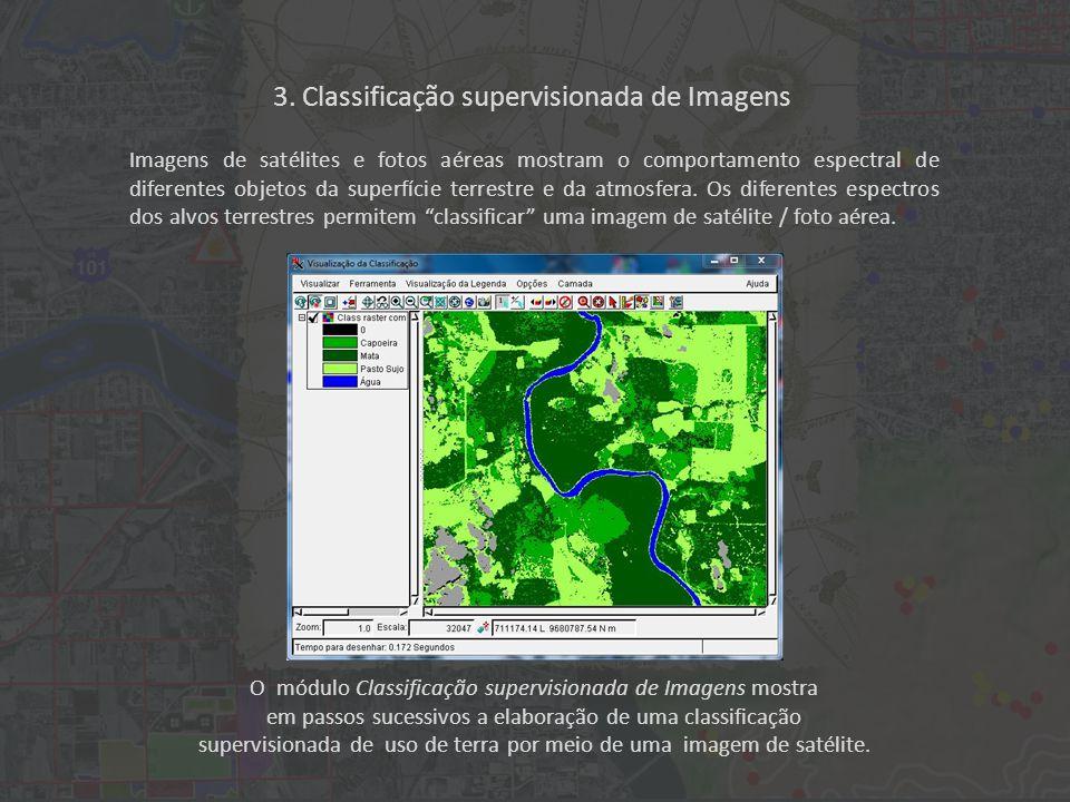 3. Classificação supervisionada de Imagens