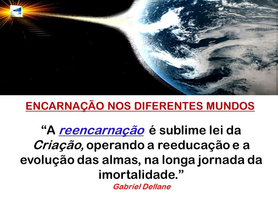 ENCARNAÇÃO NOS DIFERENTES MUNDOS