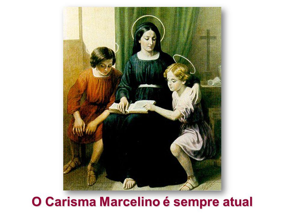O Carisma Marcelino é sempre atual