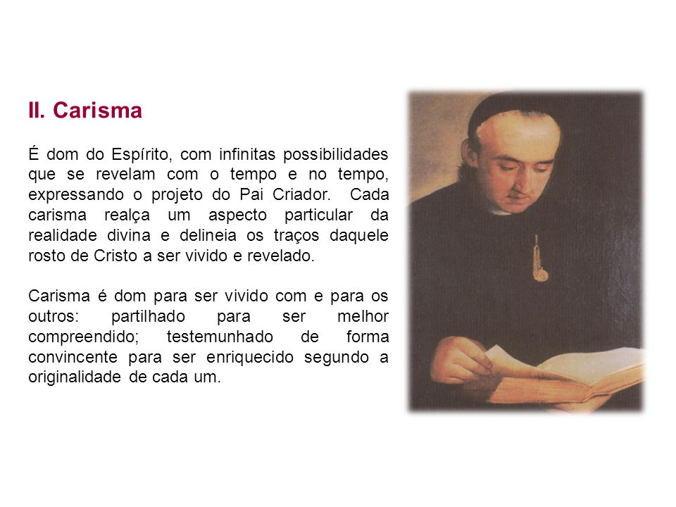 II. Carisma