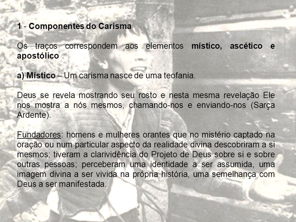 1 - Componentes do Carisma