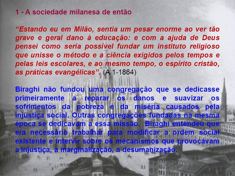1 - A sociedade milanesa de então