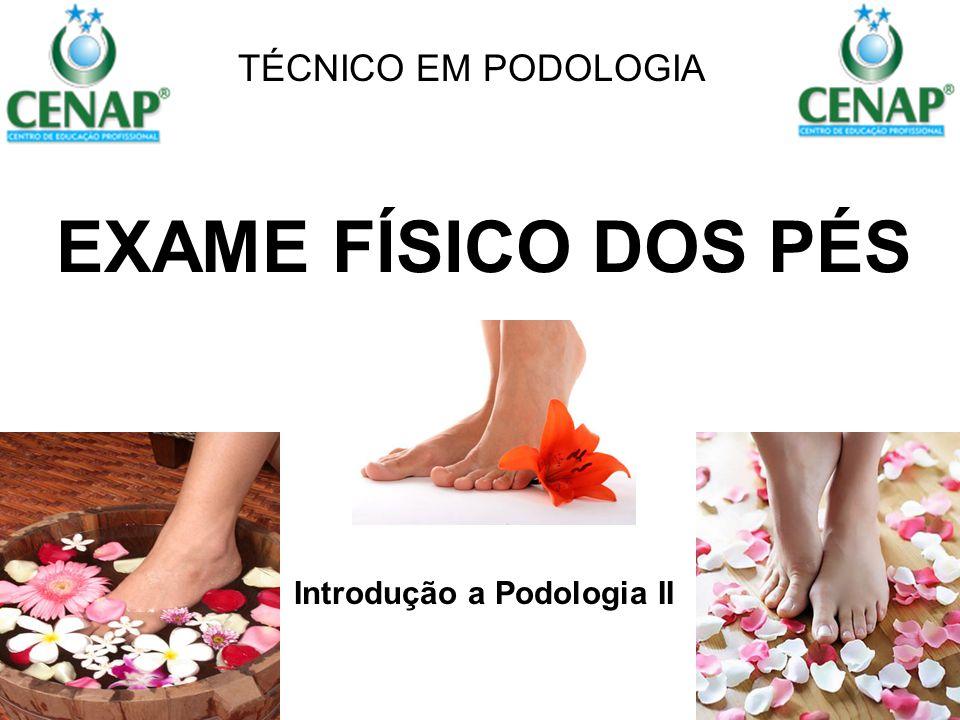 Introdução a Podologia II