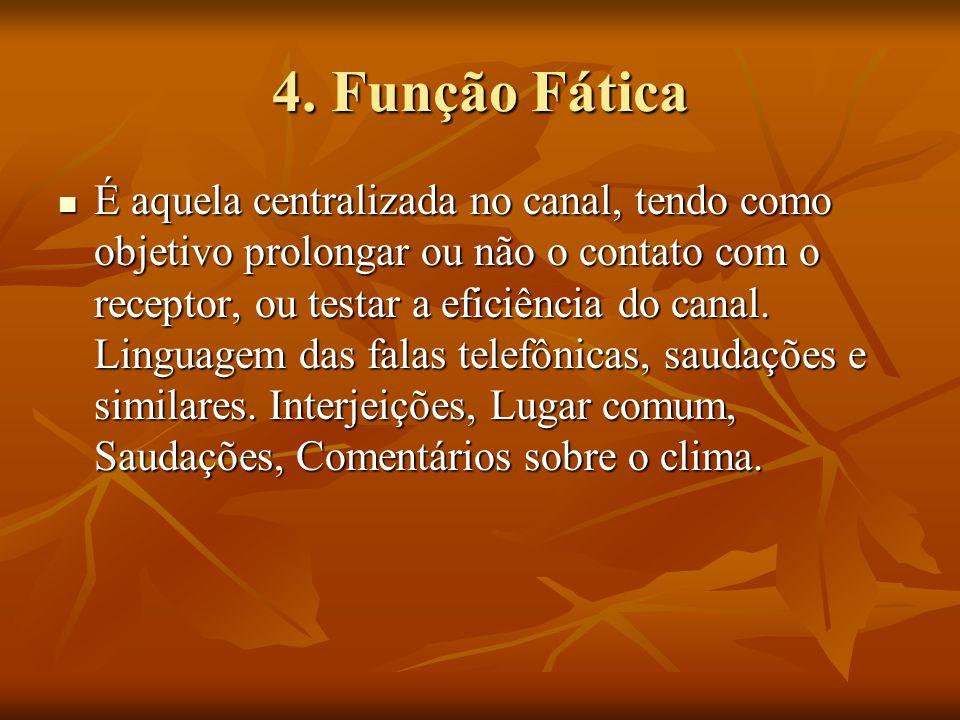 4. Função Fática
