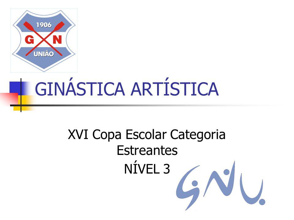 XVI Copa Escolar Categoria Estreantes NÍVEL 3