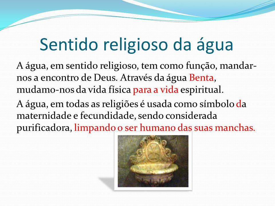Sentido religioso da água