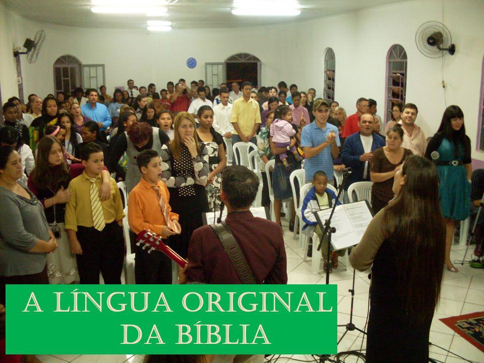 A língua original da bíblia