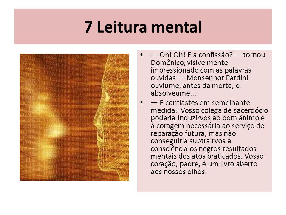7 Leitura mental