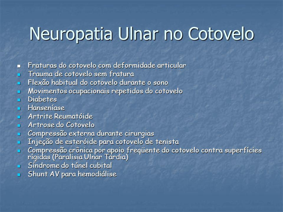 Neuropatia Ulnar no Cotovelo