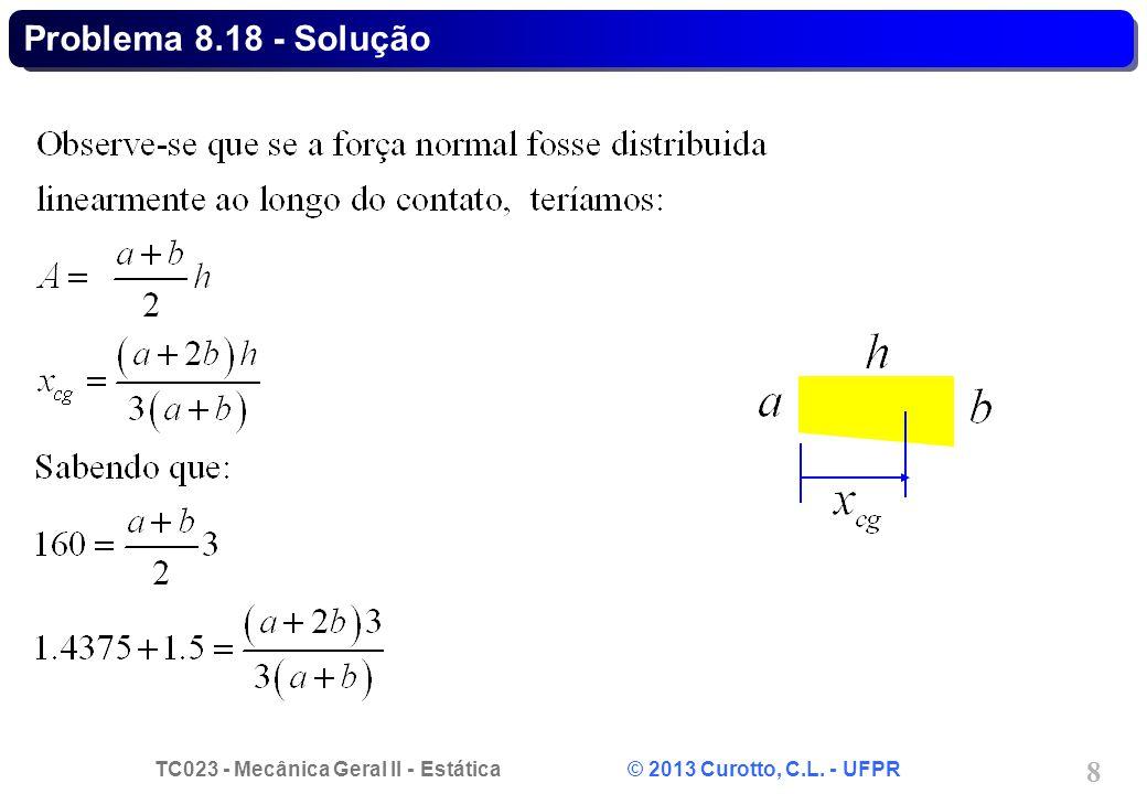 Problema 8.18 - Solução