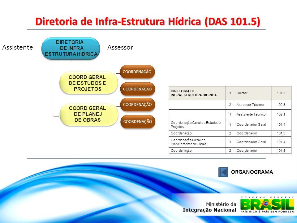 Diretoria de Infra-Estrutura Hídrica (DAS 101.5)