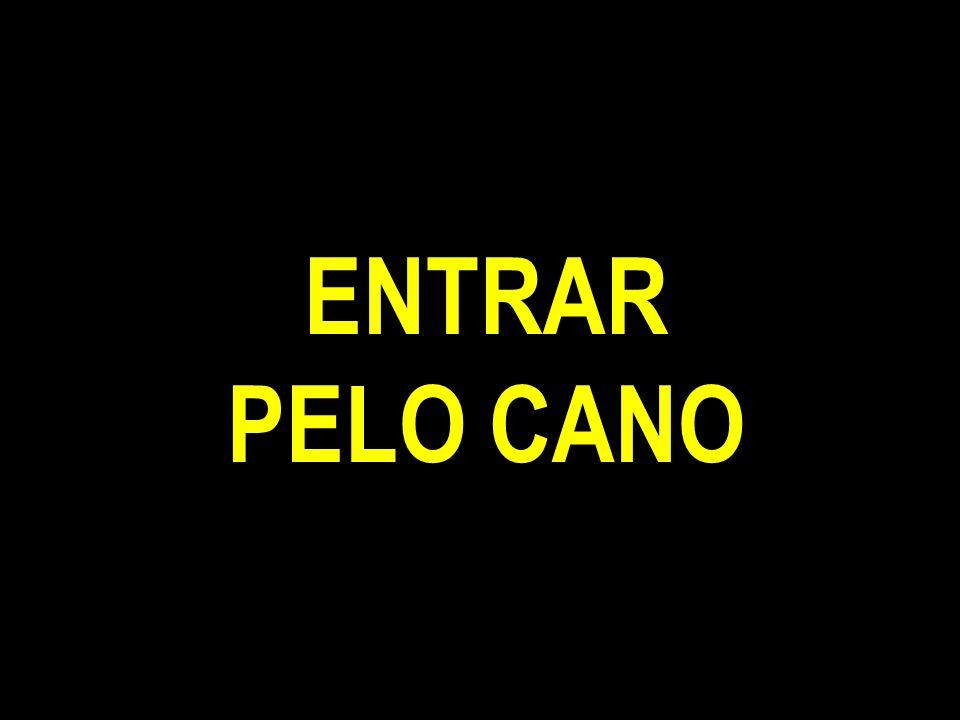ENTRAR PELO CANO
