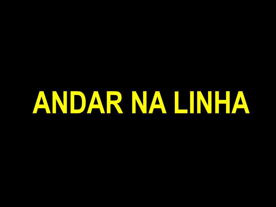 ANDAR NA LINHA