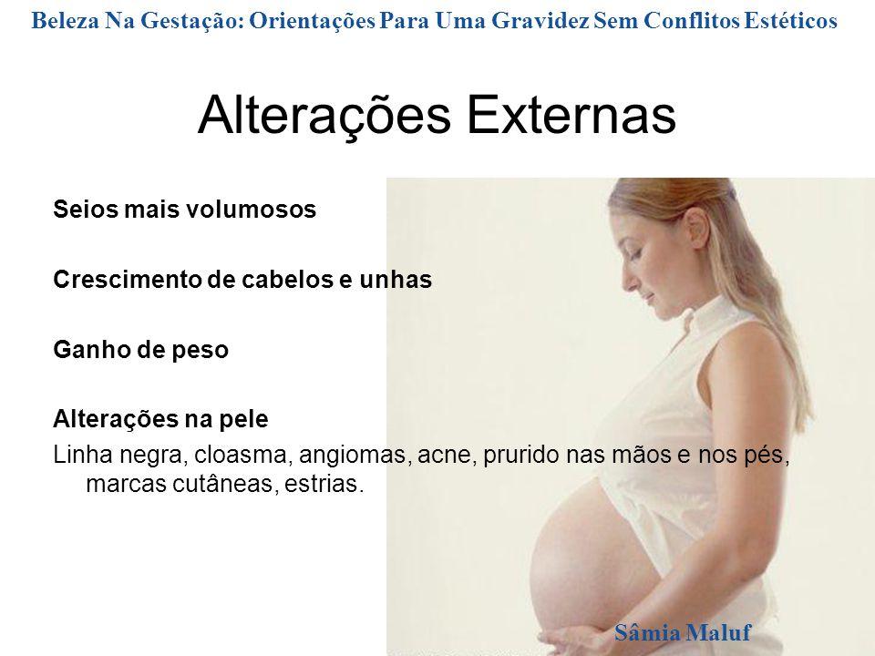 Beleza Na Gestação: Orientações Para Uma Gravidez Sem Conflitos Estéticos