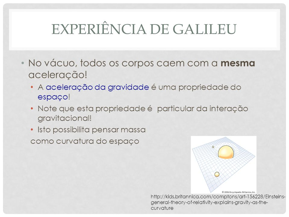 experiência de Galileu