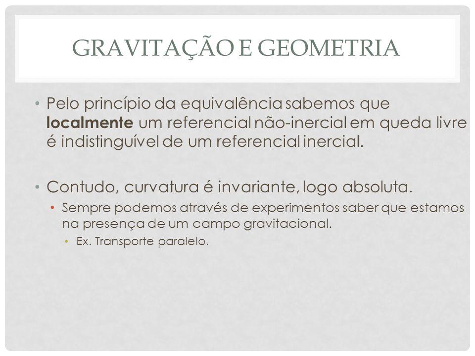 gravitação e geometria