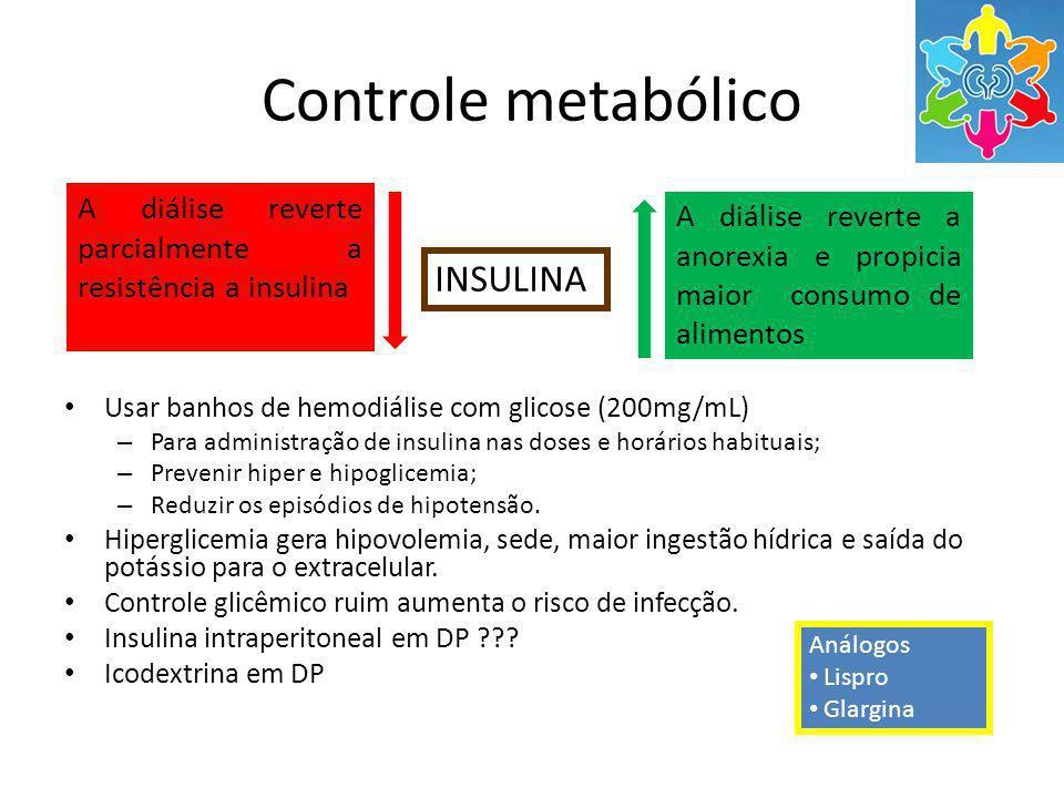 Controle metabólico INSULINA