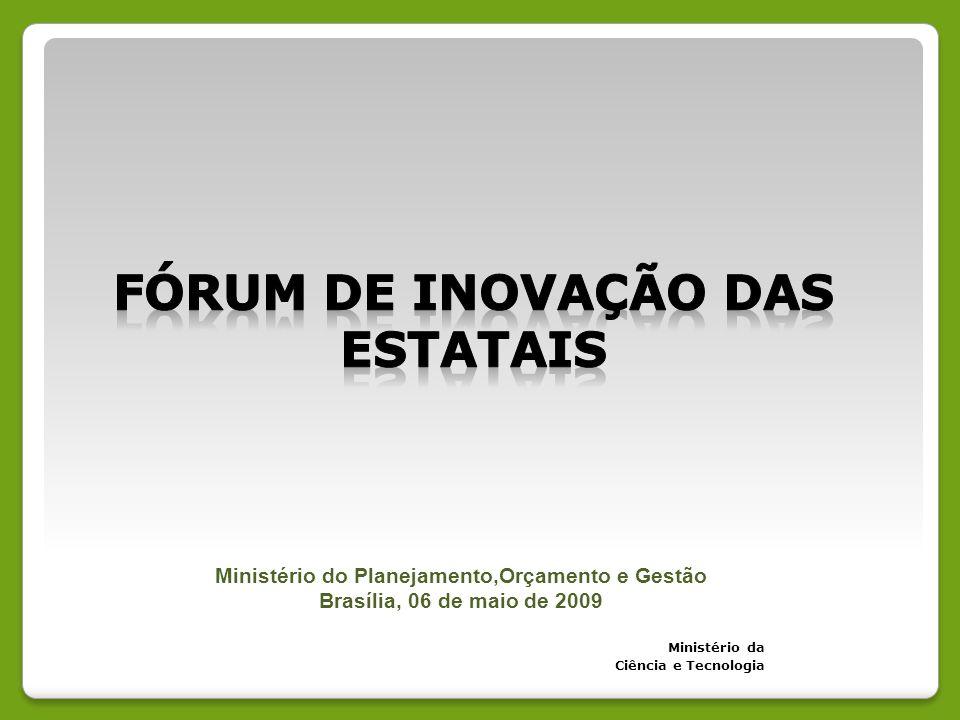 Fórum de inovação das estatais