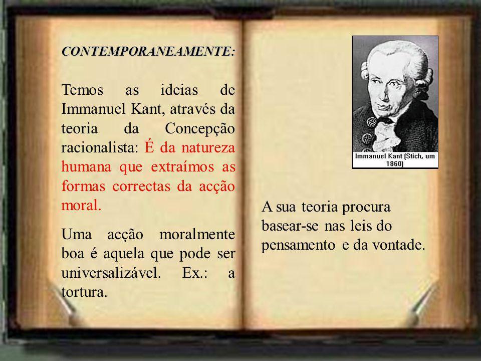 A sua teoria procura basear-se nas leis do pensamento e da vontade.