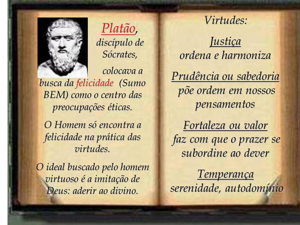 Platão, discípulo de Sócrates,