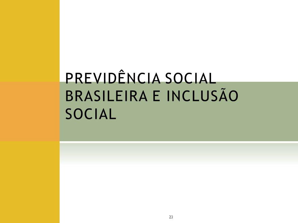 PREVIDÊNCIA SOCIAL BRASILEIRA E INCLUSÃO SOCIAL