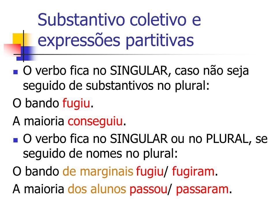 Substantivo coletivo e expressões partitivas