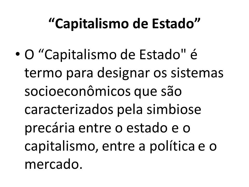Capitalismo de Estado