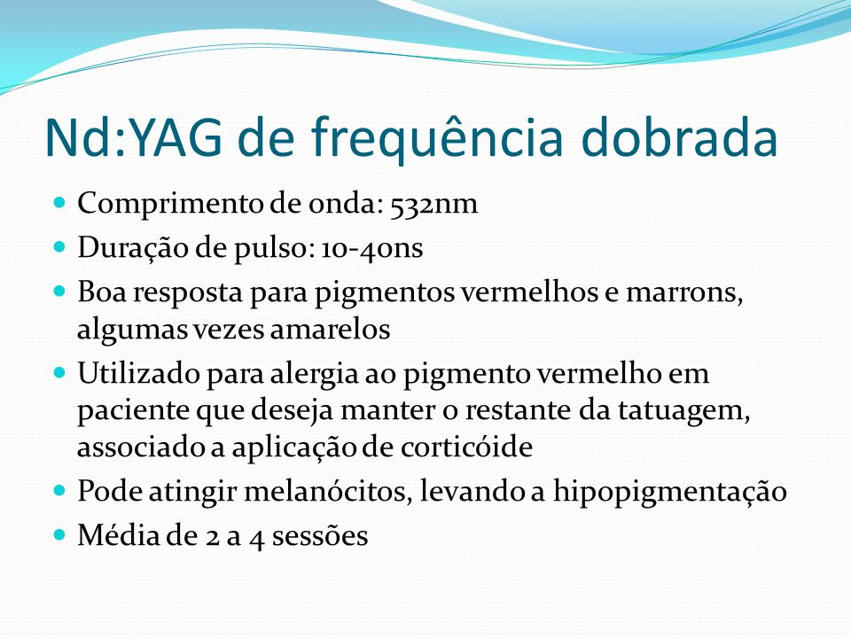 Nd:YAG de frequência dobrada