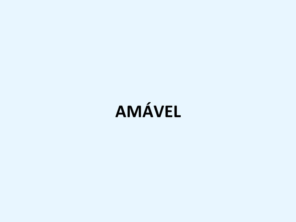 AMÁVEL