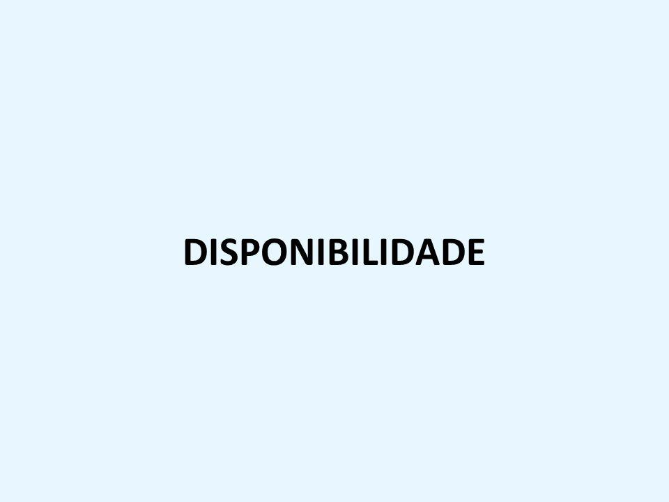 DISPONIBILIDADE